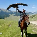 Eagle hunter Kyrgyzstan