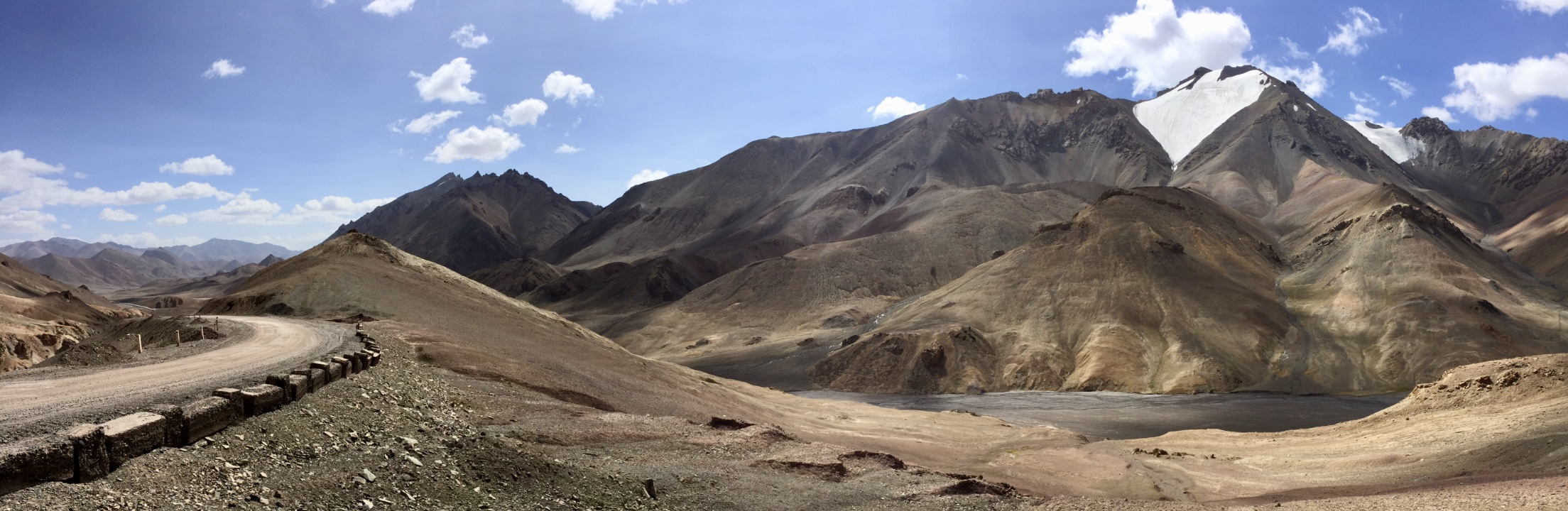 Roof of Central Asia Pamir Highway