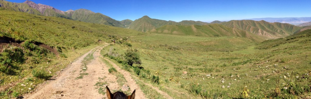Views from my horse Kyrgyzstan