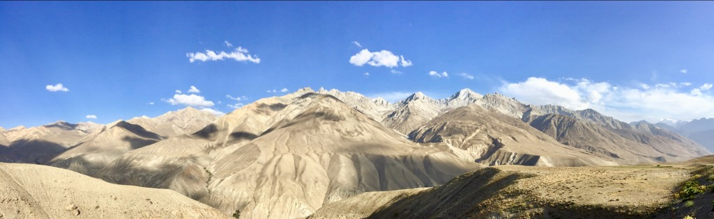 Views Hindu Kush Mountains Afghanistan