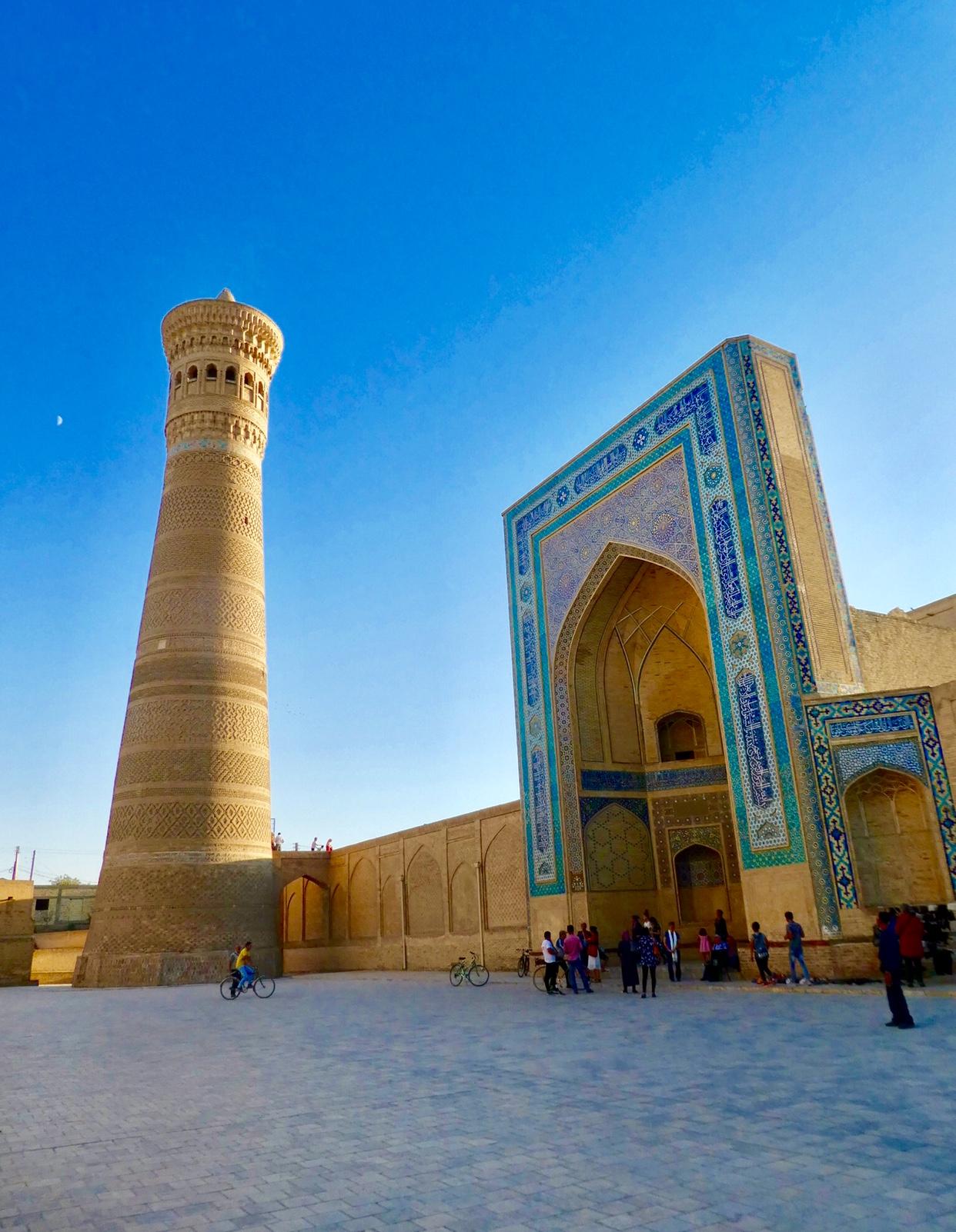 Kalon minaret Bukhara