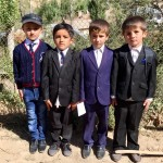 Off to school Tajikistan