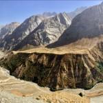 Panorama Fann Mountains