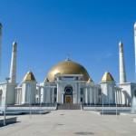 Presidential Golden Mosque Ashgabat