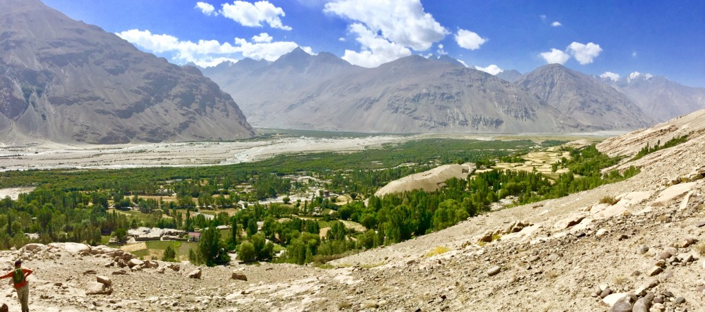 Wakhan Valley views to Afghanistan