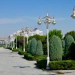 Perfectly manicured Ashgabat