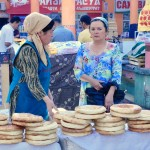 Fresh bread Khojand