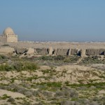 Views Sultan Qala ancient city Merv Complex