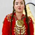 Turkmen unmarried girl