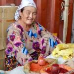 Spice seller Osh bazaar