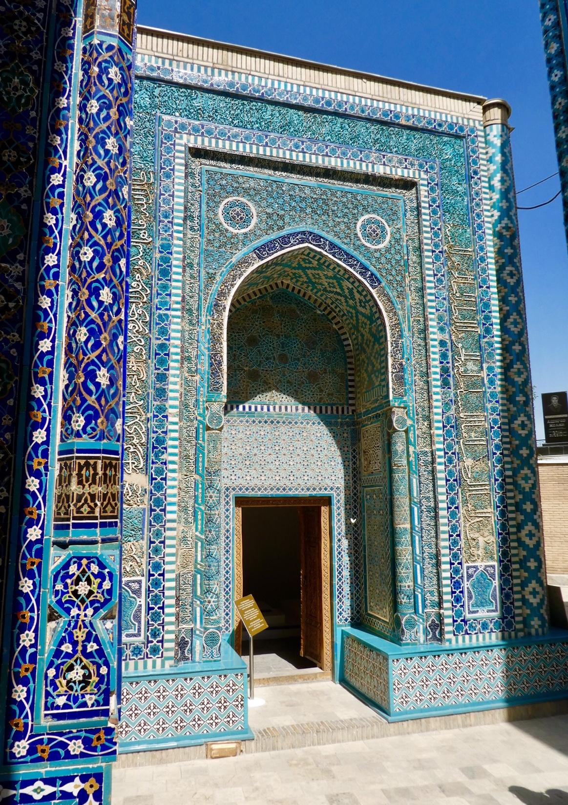 Mausoleum Shah I Zinda Samarkand
