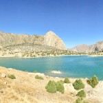 Lake Kuli Kalon Fann Mountains