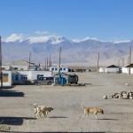 Karakul town Pamirs