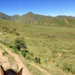 View from my horse Kyrgyzstan