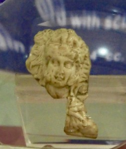 Ancient Carved portrait Alexander the Great