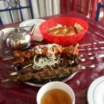 Shashlyk grilled meats