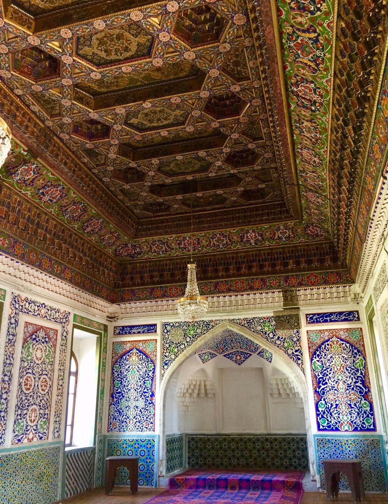Palace ceiling Khojand