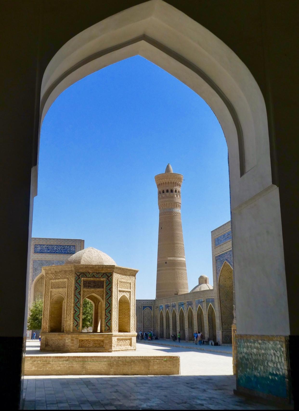 Views Kalon minaret