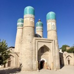 Char minar ruins Bukhara