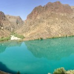 Naryn river emerald views