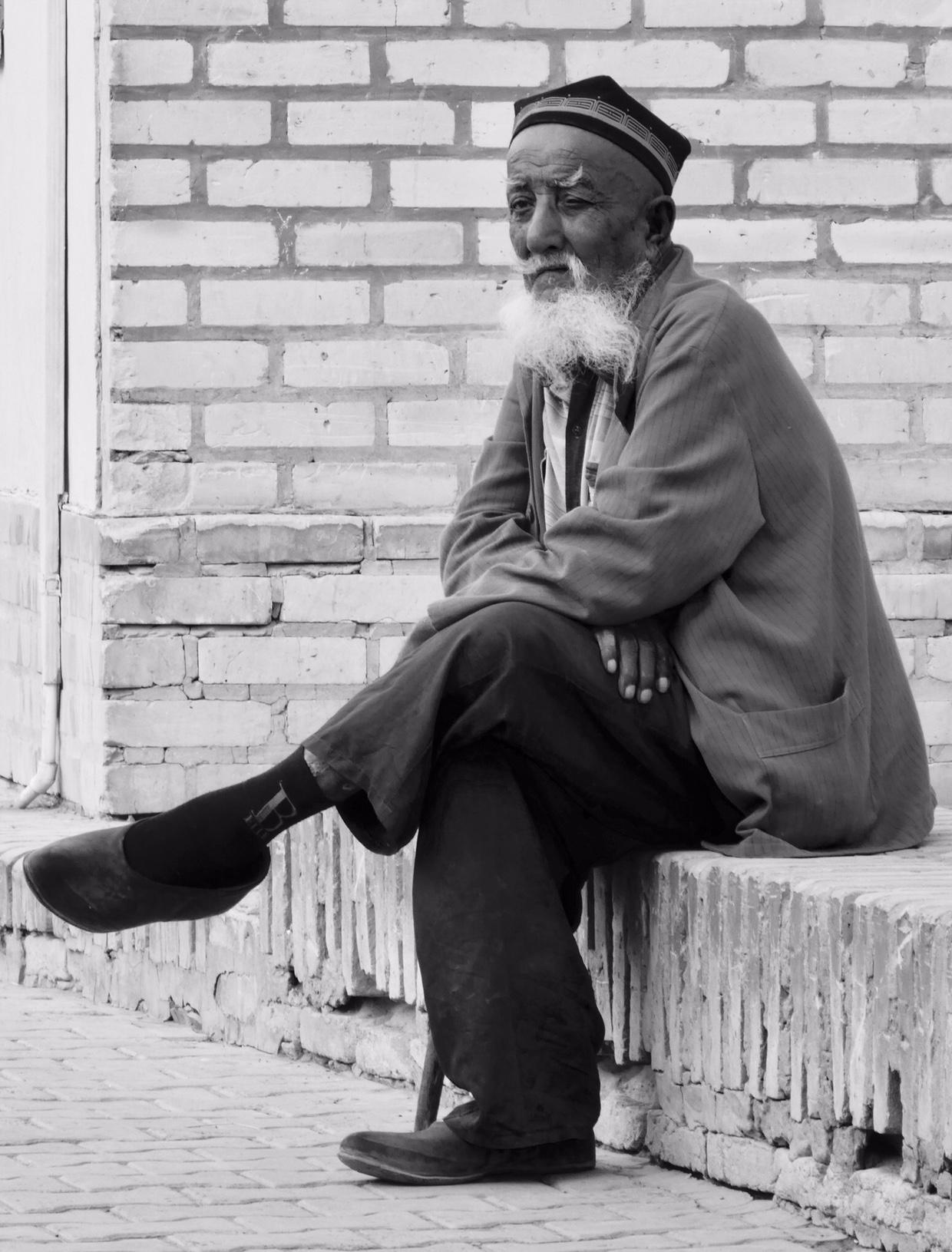 Uzbek old man