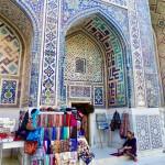 Medressa architecture Samarkand