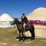 Horse trek to Song Kul