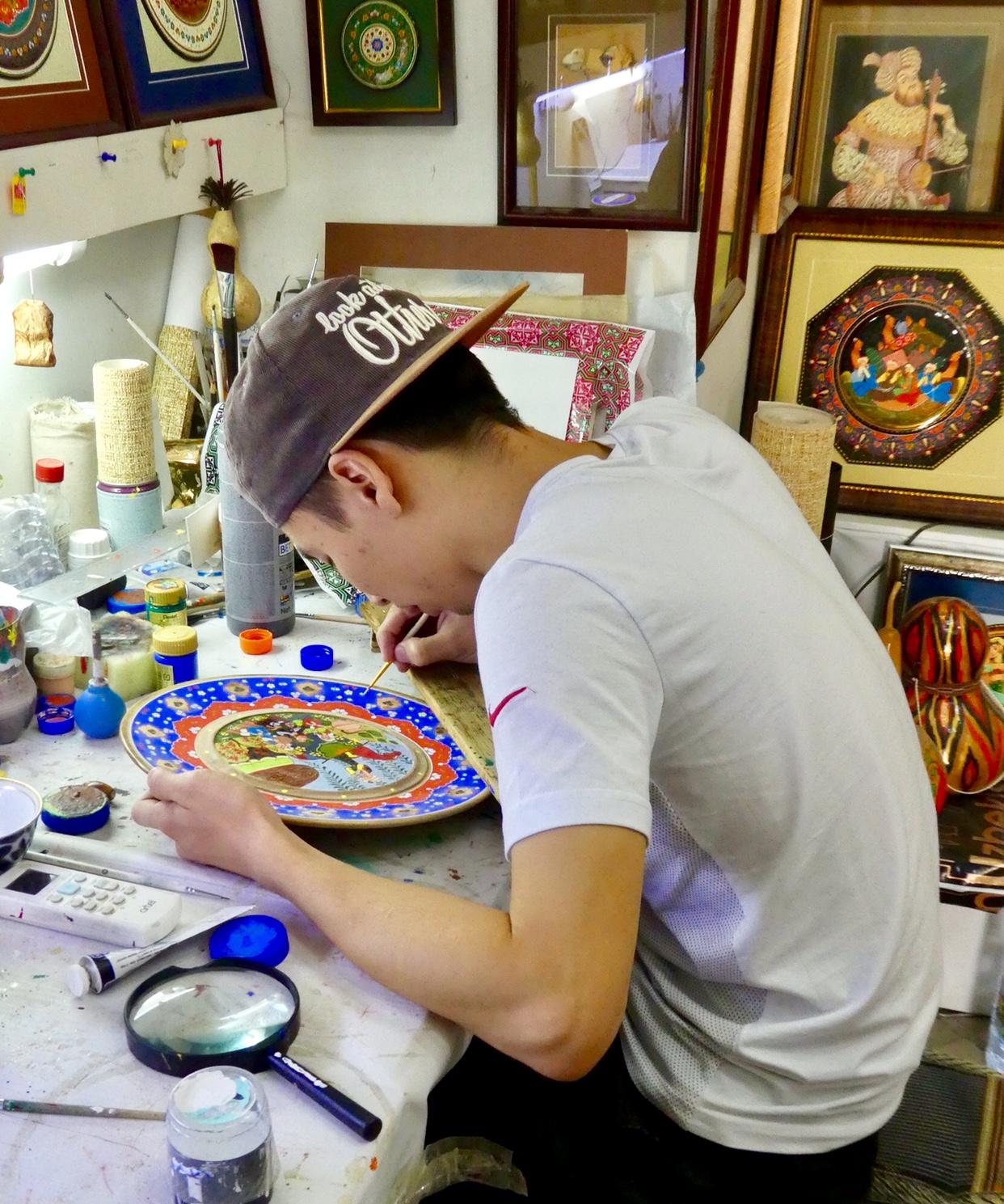 Painting oriental miniatures