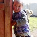 Nomad Toddler Kyrgyzstan