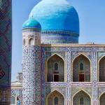 Golden Mosque dome Samarkand