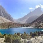 Aloudin Lake Fann Mountains
