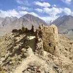 Panorama Yamchun Fort Wakhan Valley