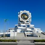 My weird hotel Ashgabat