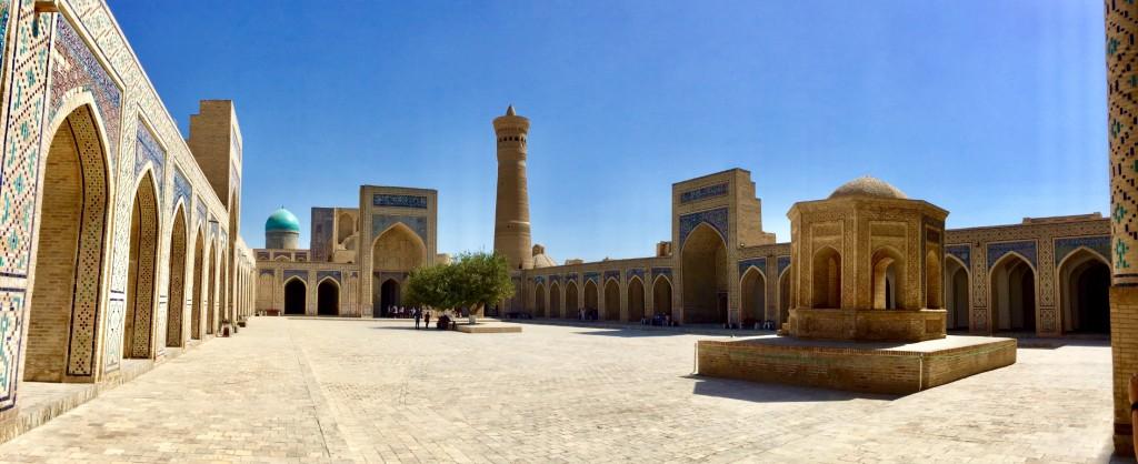 Views Kalon Mosque Bukhara