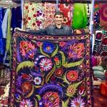 Suzani Silk embroidery