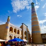 Islom Hoja minaret Khiva