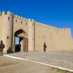 Citadel walls Turkistan