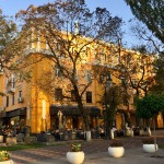 Terrace restaurants Almaty