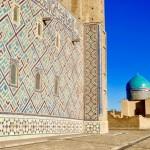 Mausoleum views Turkistan
